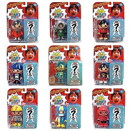 31db578e7e4d Amazon.com  Ryan s World 2 Pack Figure