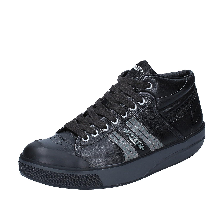 MBT Kito Bluecher Mid Fashion US Sneakers Women Leather Black 37 EU/ 6-6,5  US Fashion B00QZSZIP8 Fashion Sneakers f4e89c