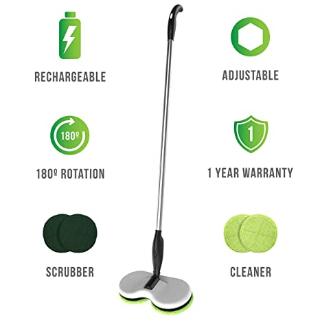 Amazon Gladwell Cordless Rechargeable Electric Mop Floor