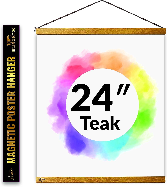Pack of 24 Velvet Art Magnets