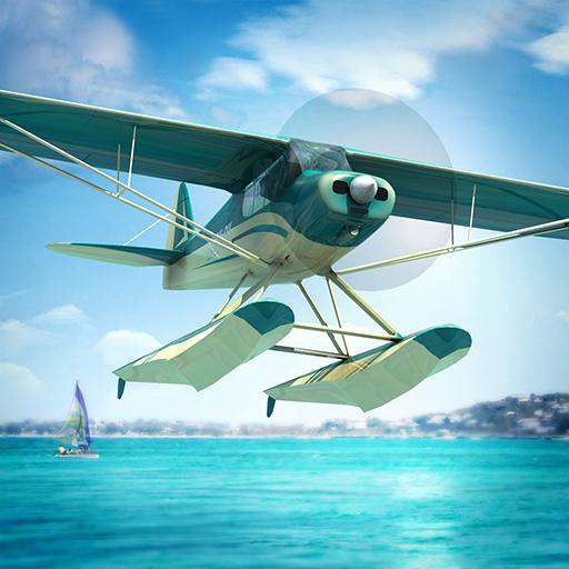 Seaplane - Propeller Flight