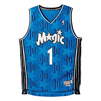Adidas Intl Camiseta Orlando Magic Retired de Baloncesto, Hombre, Azul, 5XL