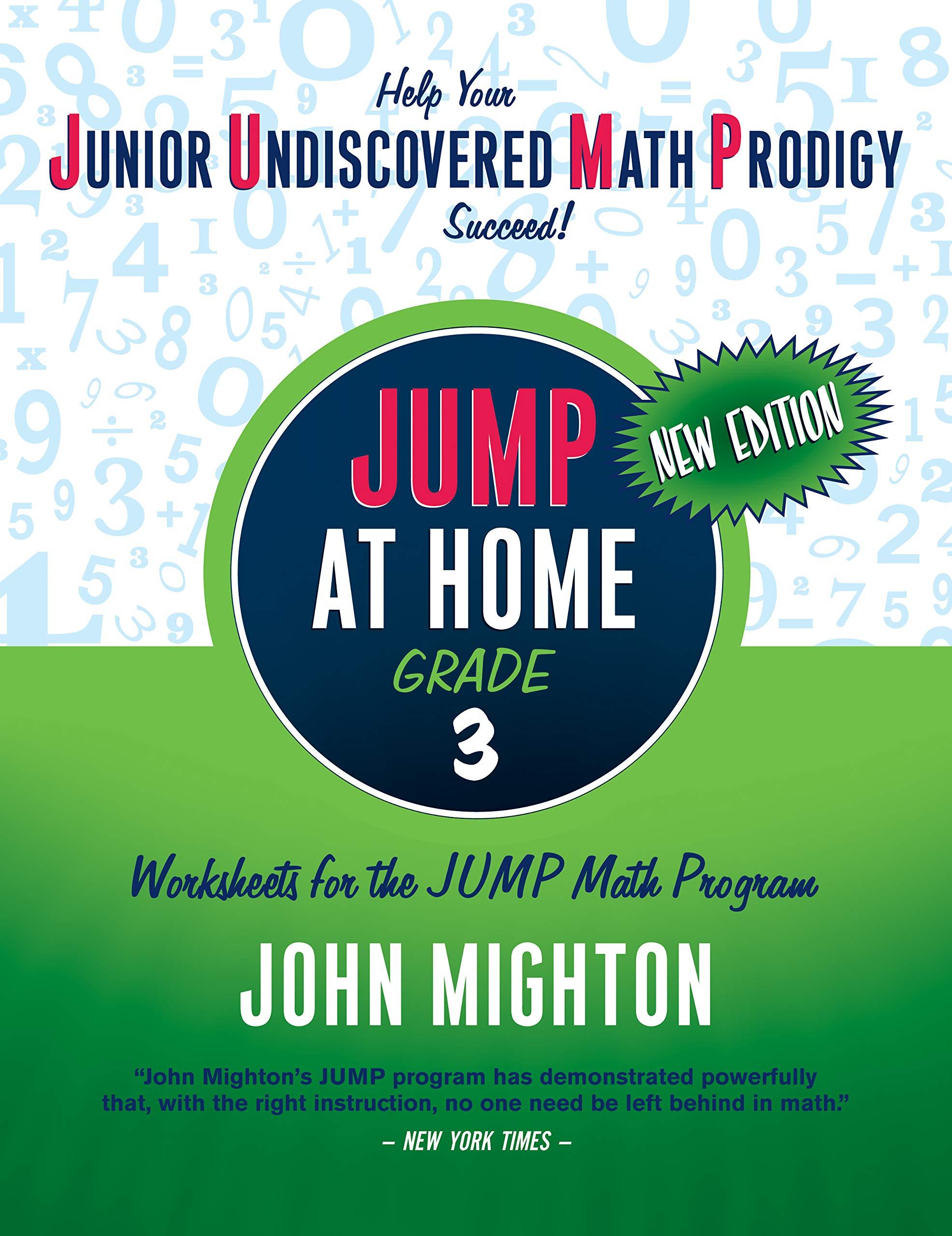 Amazon Com Jump At Home Grade 3 Worksheets For The Jump Math Program 9780887849763 Mighton John Books [ 2560 x 1971 Pixel ]
