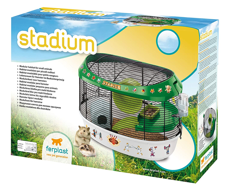 Ferplast Estadio hámster Jaula: Amazon.es: Productos para mascotas