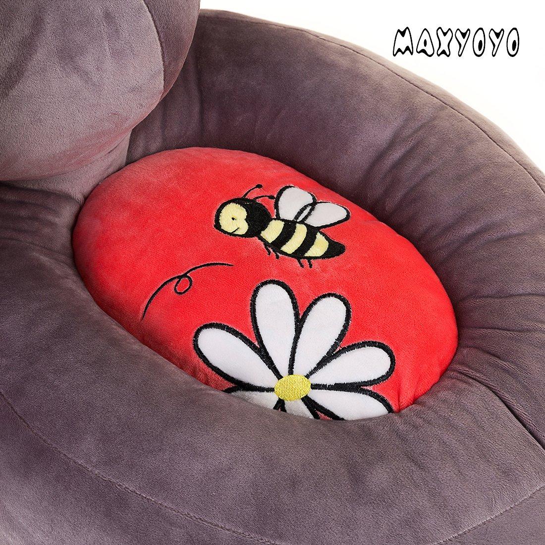 Amazon.com: Peluche con sofá puf para niños ...