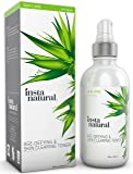 InstaNatural Vitamin C Skin Clearing Face Toner – Natural and Organic Anti Aging Formula with Salicylic Acid & Hyaluronic Acid - Helps Wrinkle, Dark Spot, & Fine Lines - Safe for Sensitive Skin 4oz