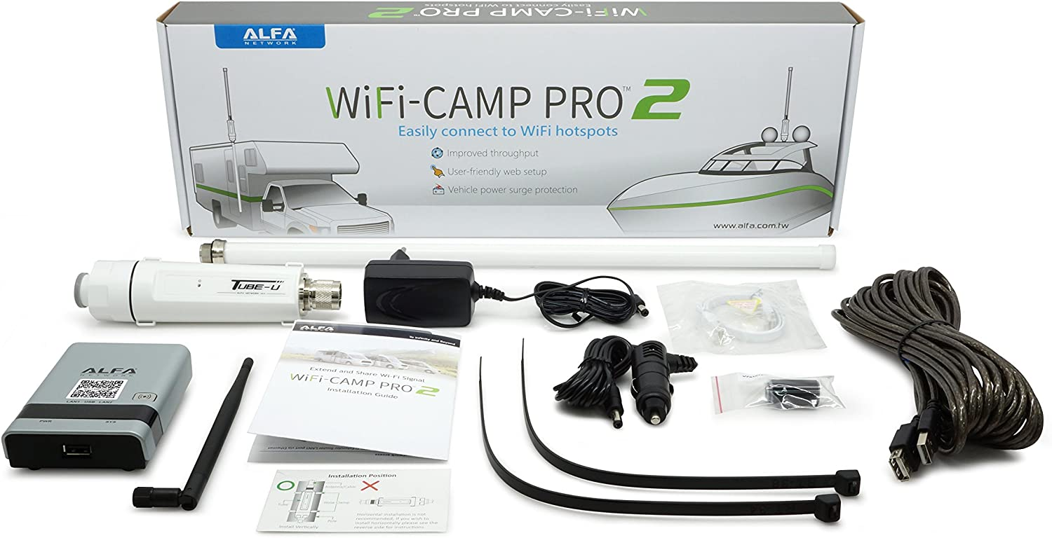 Alfa Wi-Fi Camp Pro 2 RV Kit