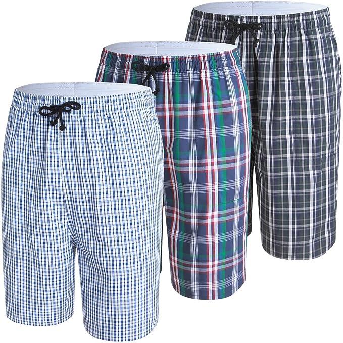 JINSHI Pantalones Cortos de Algodón para Hombre BArefpJG