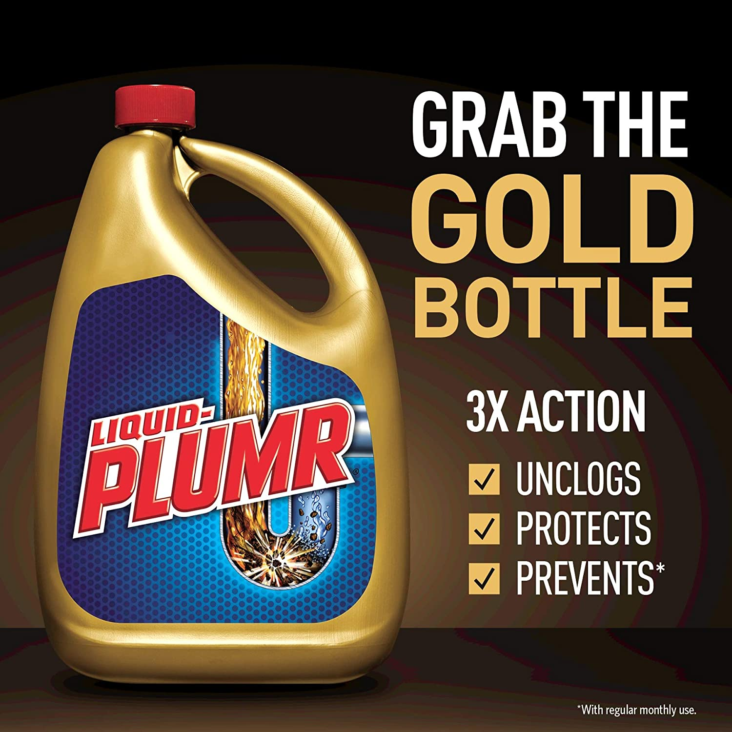 Liquid-Plumr Pro-Strength Drain Cleaner