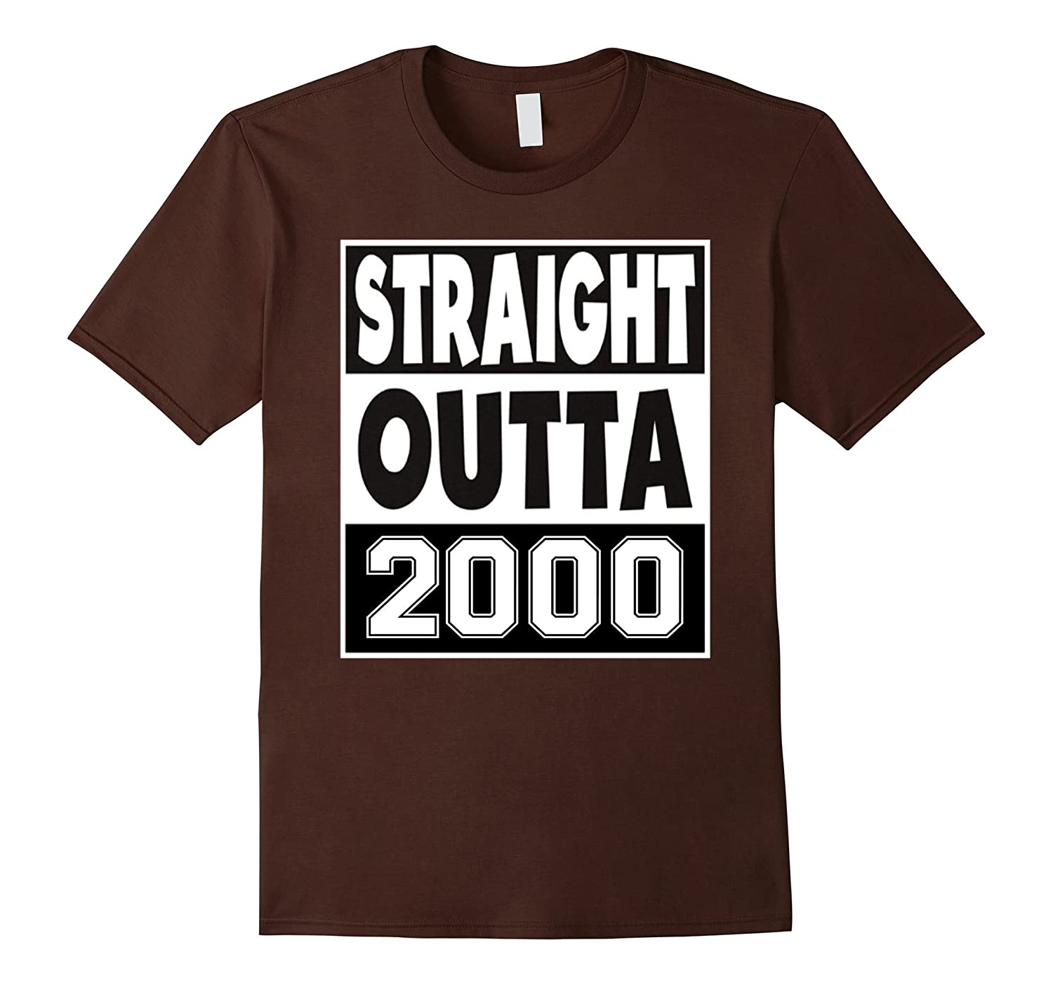16th Birthday Gift TShirt Streight Outt 2000 For men/women B-Art