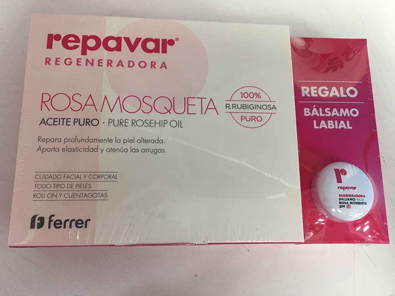 Repavar rosa mosqueta advance aceite 15ml product description - Repavar Aceite Rosa De Mosqueta 15ml Regalo B Lsamo Labial Spf15 10ml Amazon Es Belleza