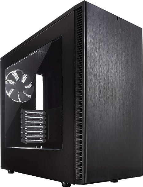 Fractal Design Define S - Window Negro - Caja de Ordenador (PC ...
