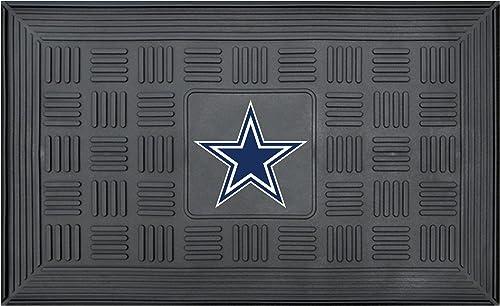 NFL Dallas Cowboys 3-D Team Medallion Vinyl Door Mat