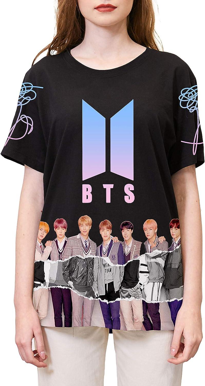 Yicool BTS Ablum Shirt Unisex Love Yourself Answer T Shirt Bangtan Boys Merch Shirts