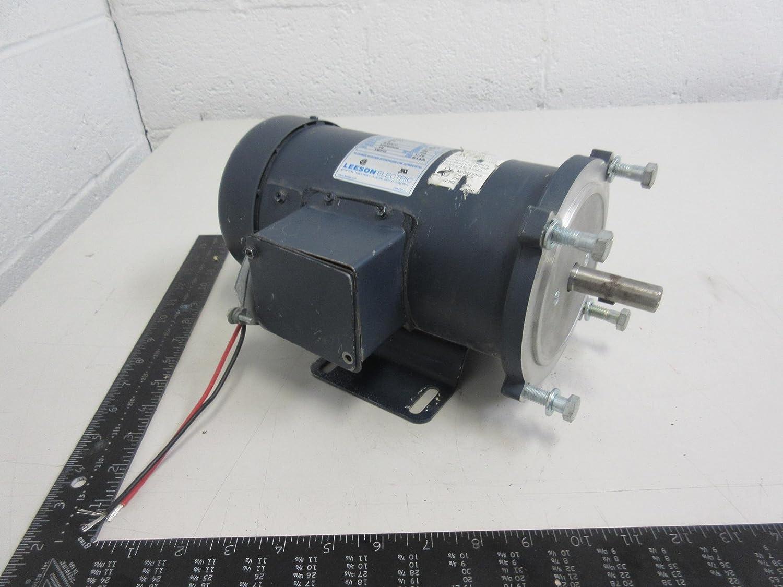Leeson C42D17FK1C 1/2 HP DC Motor Frame NSS56C T92301