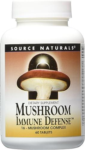 2 pack Mushroom Immune Defense, 16 Mushroom Complex, 2 x 60 tablets