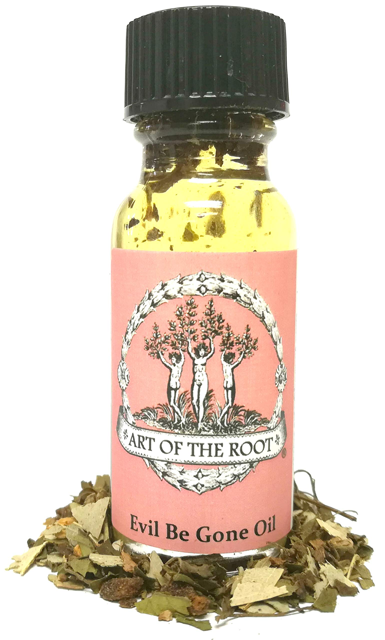 Evil Be Gone Oil 1/2 oz for Negativity & Cleansing Hoodoo Voodoo Wicca Pagan