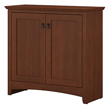 Amazon.com: Bush muebles buena vista pequeño gabinete de ...