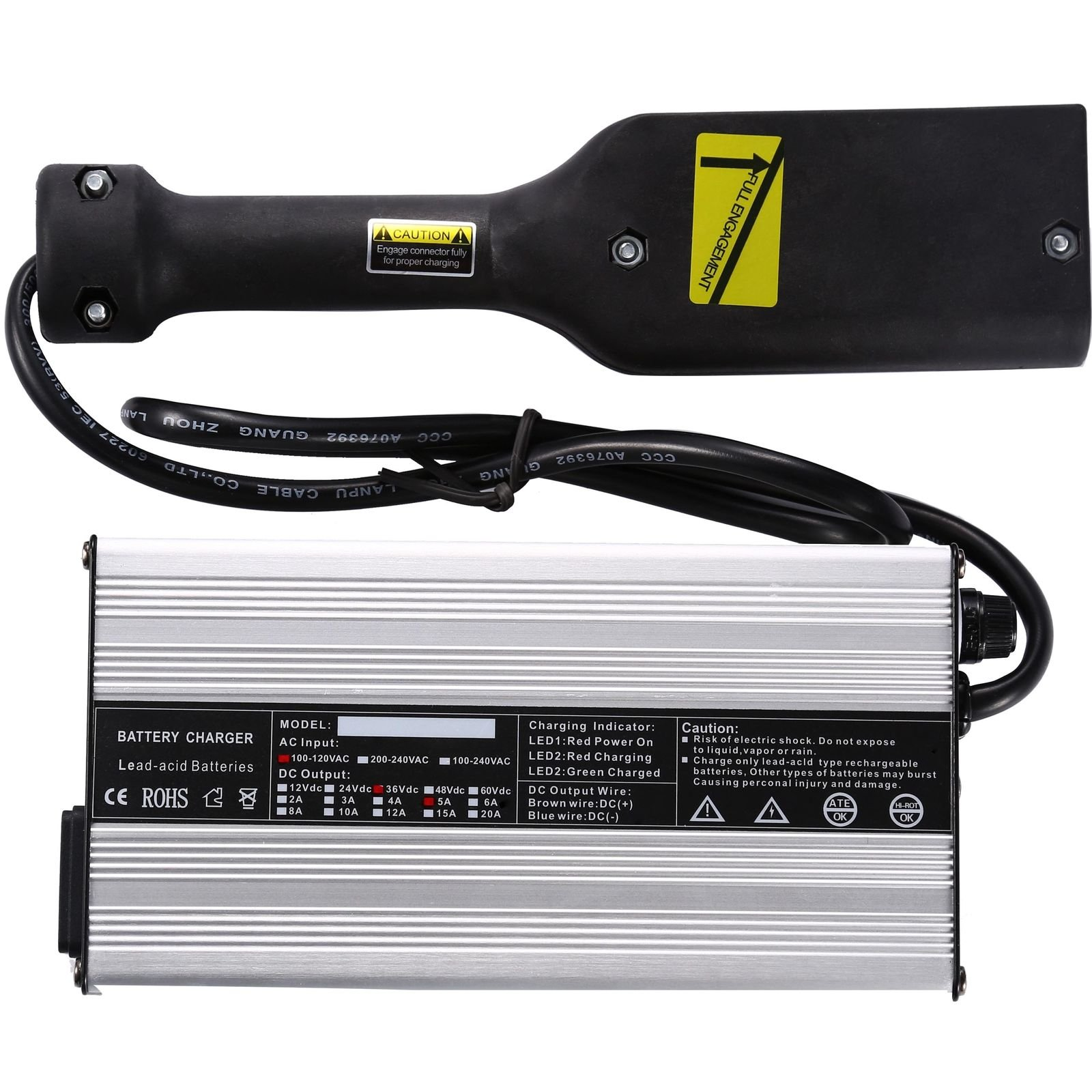 36V Powerwise Golf Cart Battery Charger 36 Volt For EZ-GO TXT Medalist D Style by JEM&JULES (Image #1)