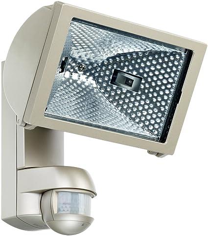 ESY-LUX EL10520020 - Foco halógeno de 500 W con sensor de movimiento, color
