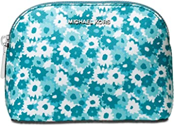 MICHAEL Michael Kors Women`s Medium Travel Pouch (Tile Blue(0032)/