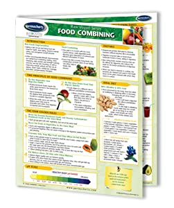 Food Combining Guide- Raw Living Foods - Vegan Quick Reference Guide by Permacharts