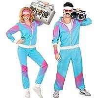 WIDMANN 98872 Adult Costume, Multicolor (Blue/Purple/Pink), S