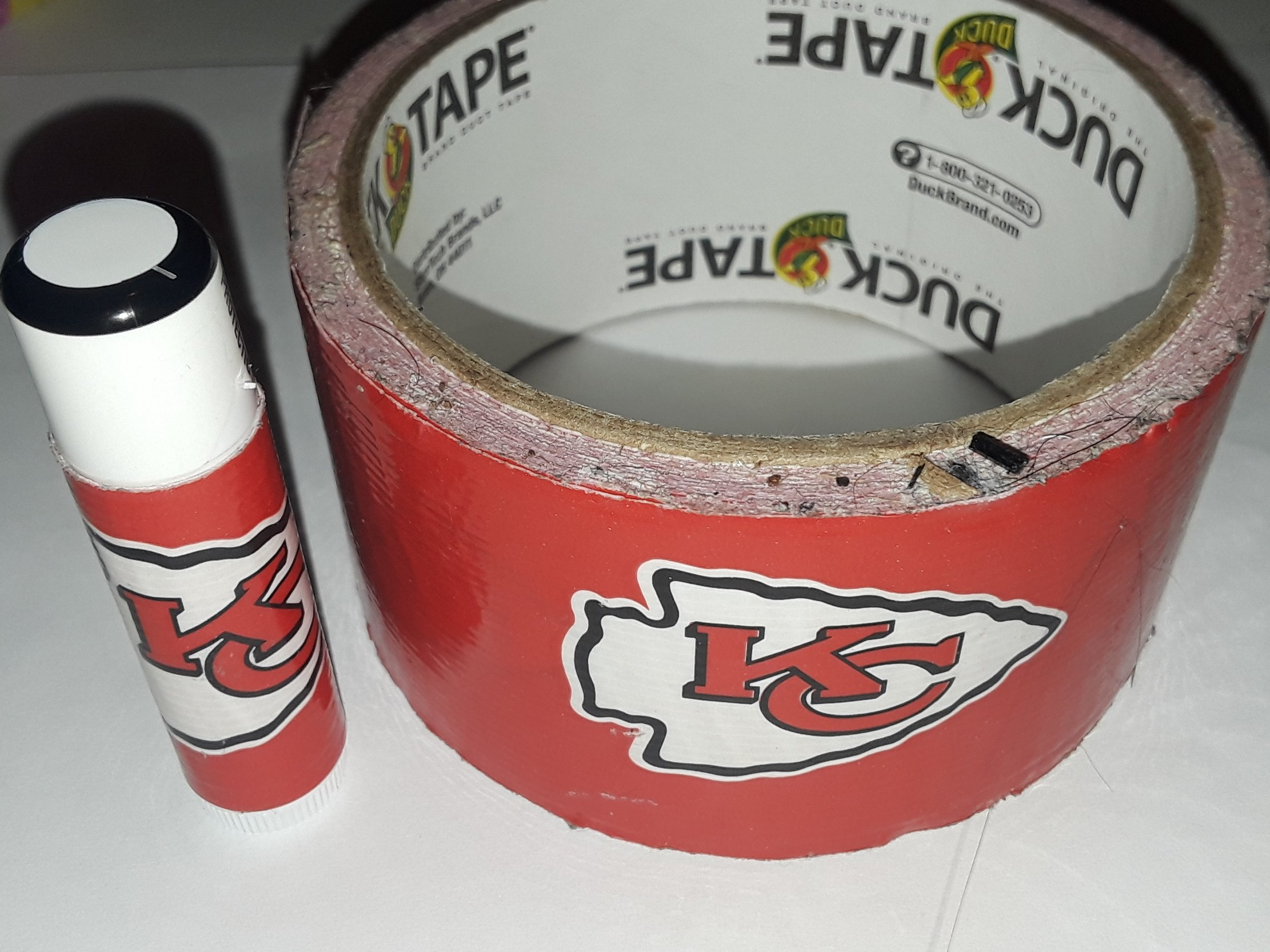 5 Kansas City Chiefs NFL Chap Stick Lip Balm five pack pieces BULK