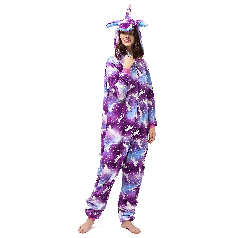 Katara 1744 Kigurumi Unisex Adulti Costume Animale Pigiama intero Carnevale Pinguino 175-185cm