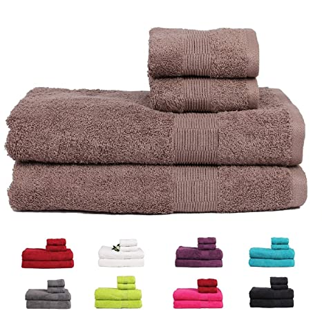 Casa Basics 475 g/m² premium Quick Dry Bath & toallas de mano (2