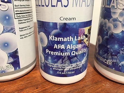 Amazon.com: Kit Celulas Madres 120 Capsules/Celulas madres Cream ...