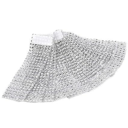100pcs servilleteros de mesa servilletero anillo Diamante cinta de bobina con cierre decoración para Navidad Fiesta Boda: Amazon.es: Hogar