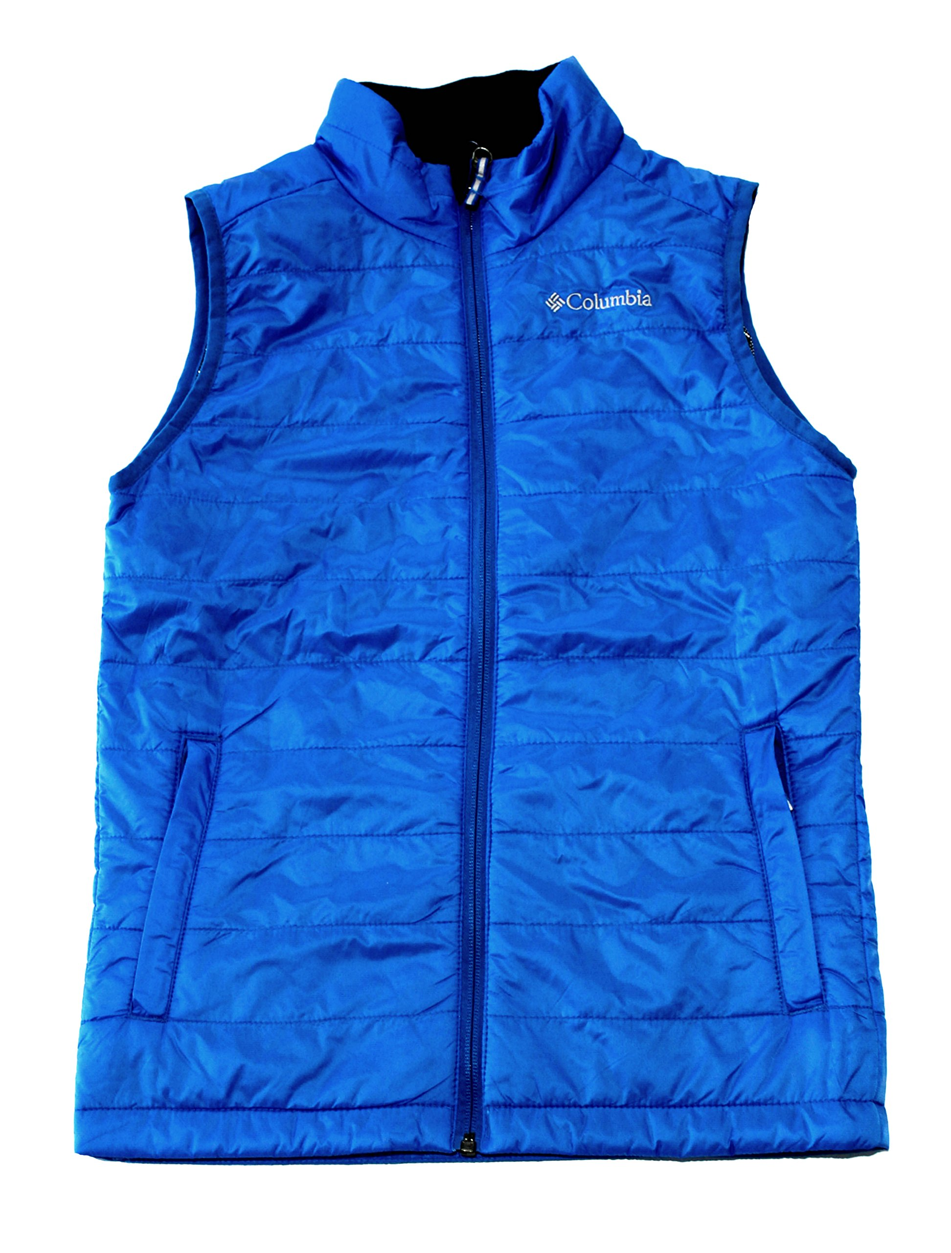 COLUMBIA Crested Butte youth BOYS OMNI HEAT FULL ZIP LIGHTWEIGHT VEST (XS 6/7) by Columbia
