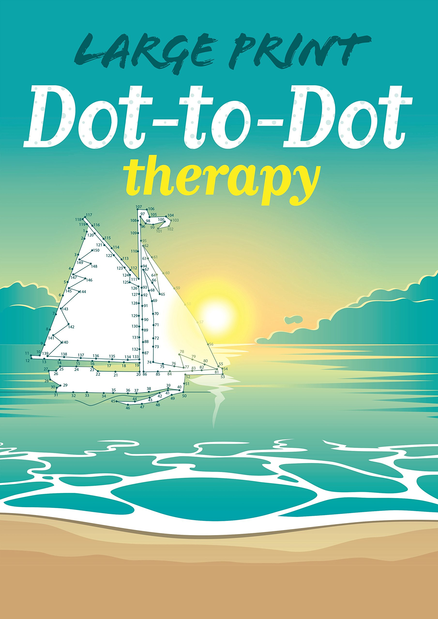 Amazon.com: Large Print Dot-to-Dot Therapy (9781784284107): Adam ...