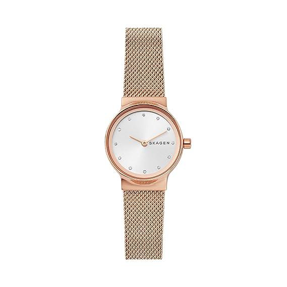 Skagen Reloj Analogico para Mujer de Cuarzo con Correa en Acero Inoxidable SKW2665: Amazon.es: Relojes
