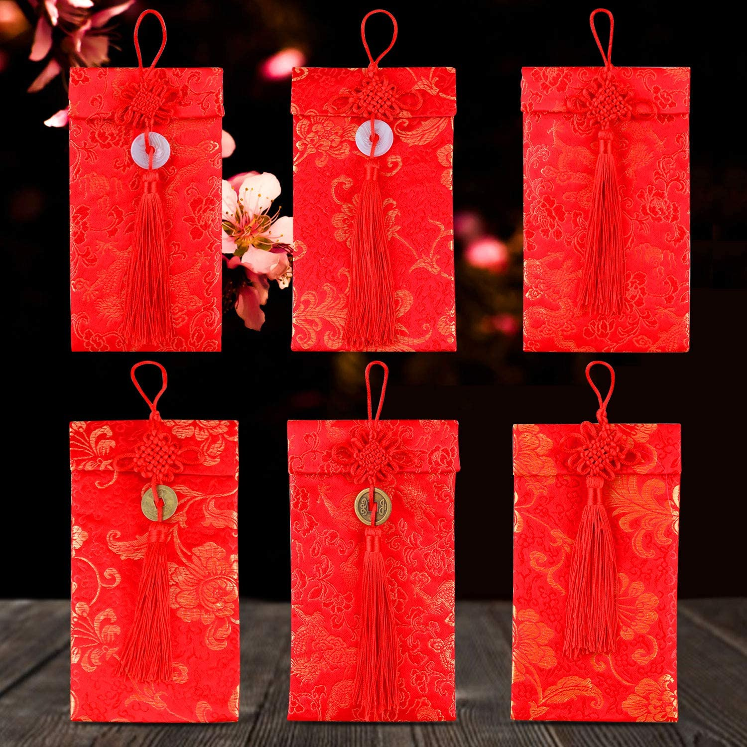 Spring Festival Brocade Red Envelope Chinese New Year Red Packet Lucky Money