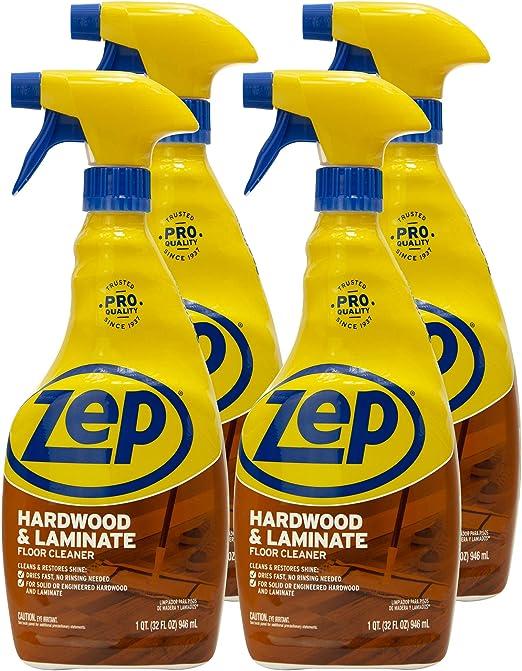 Amazon Com Zep Hardwood Laminate Floor Cleaner 32 Ounce