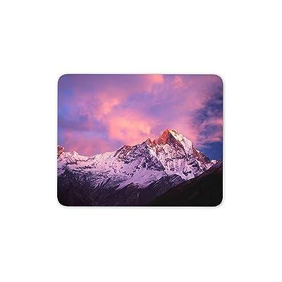 monter Machapuchare Montagne Tapis de souris–Népal Himalaya Cadeau ordinateur # 8900