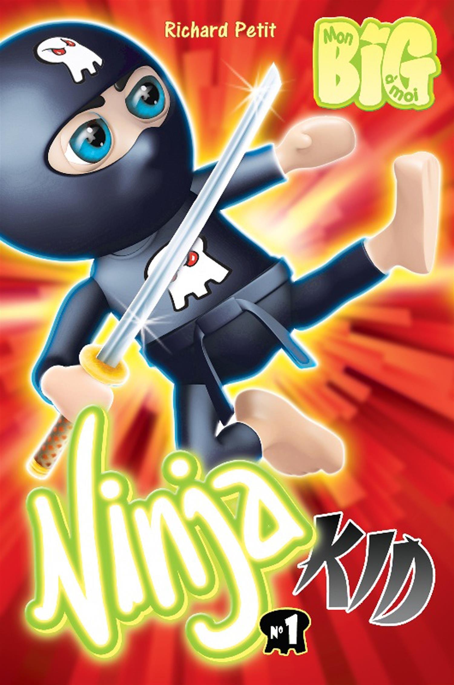 Ninja Kid : Tome 1: Amazon.es: Richard Petit: Libros en ...