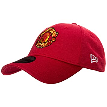 ff1c55ca2a9 Image Unavailable. Image not available for. Colour  New Era Manchester  United 9Forty Shadow Tech Red Adjustable Hat
