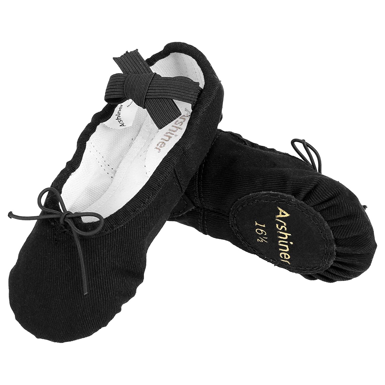 Acazon Kids Ballet Shoes Toddler Girls Dancing Yoga Shoes Fashion Cute Shoes Cloth 4-8 Years