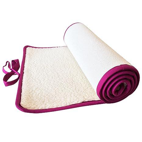 Esterilla de yoga lana merino 100% Fabricación Alemana ...