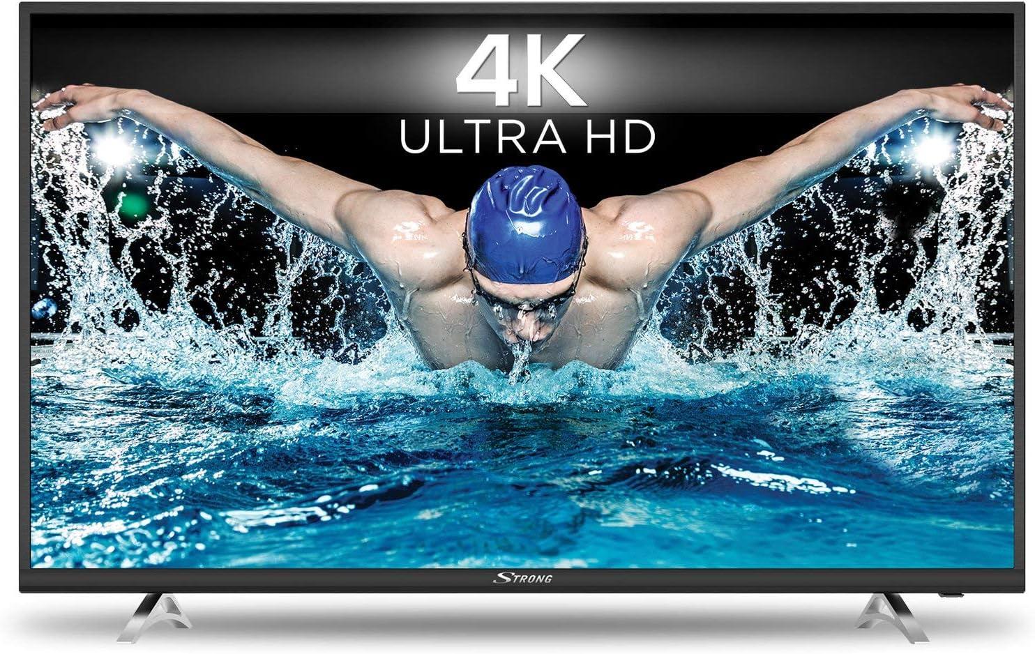 STRONG SRT 49UA6203 UHD Smart TV HDR – 4K Televisores LED 49 Pulgadas, 123 cm (Netflix, Youtube) negro: Amazon.es: Electrónica