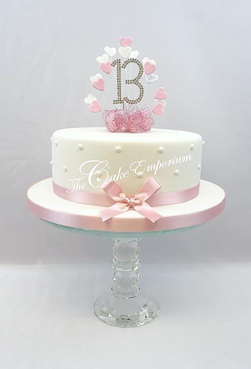 Decoración de Pasteles Decoración para tarta para corazón ...