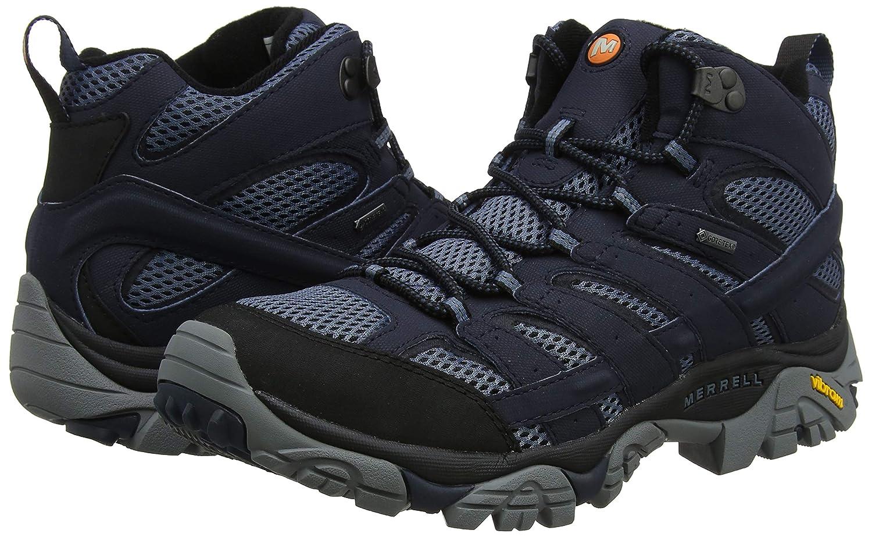 Merrell Herren Moab 2 Mid Mid Mid Gore-tex Trekking-& Wanderstiefel, Schwarz 0a1507