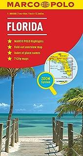 Road Map Florida.Florida Aaa Road Map Amazon Co Uk 9780749548094 Books