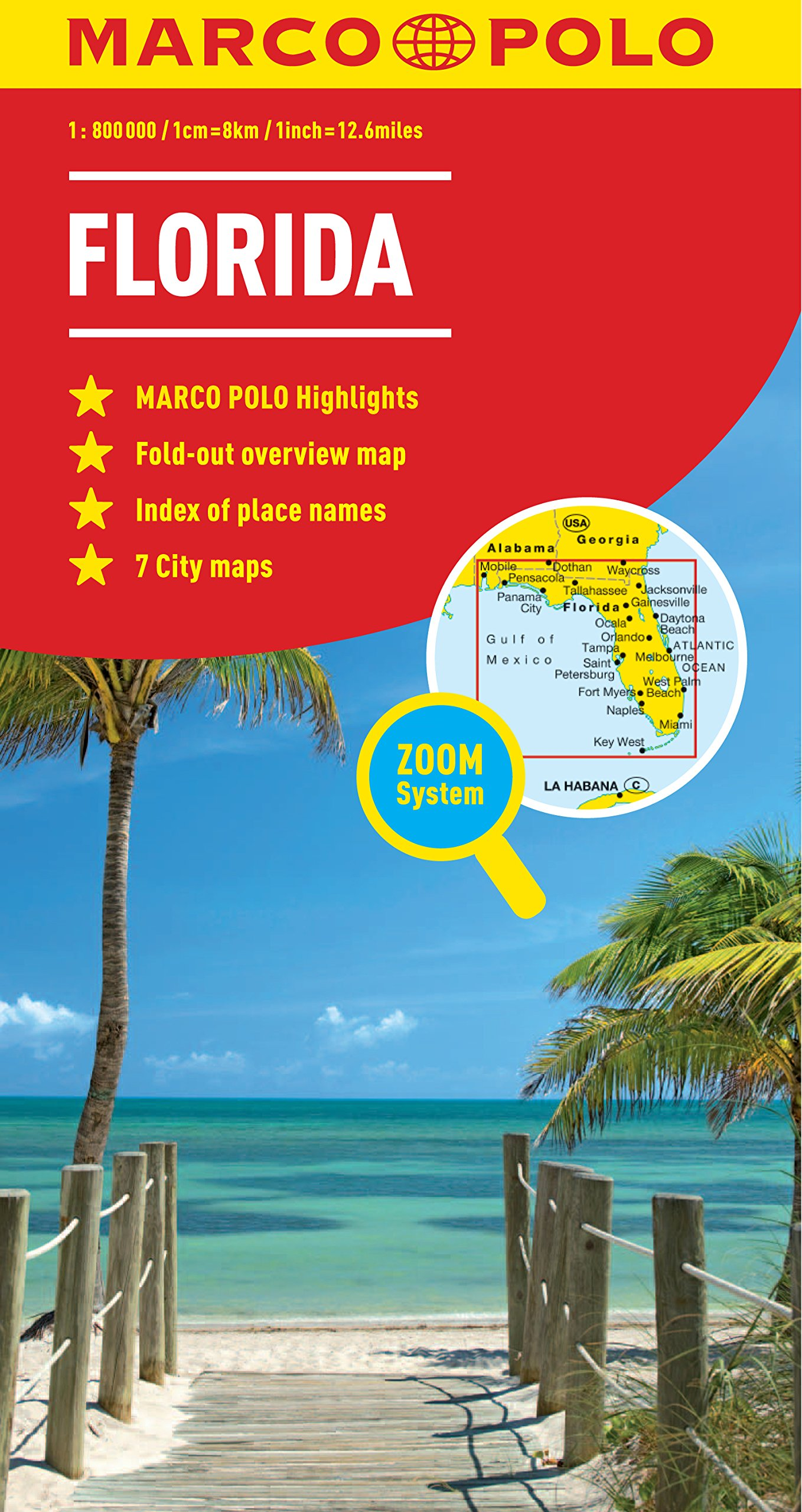 Florida Marco Polo Map Marco Polo Maps Marco Polo Travel