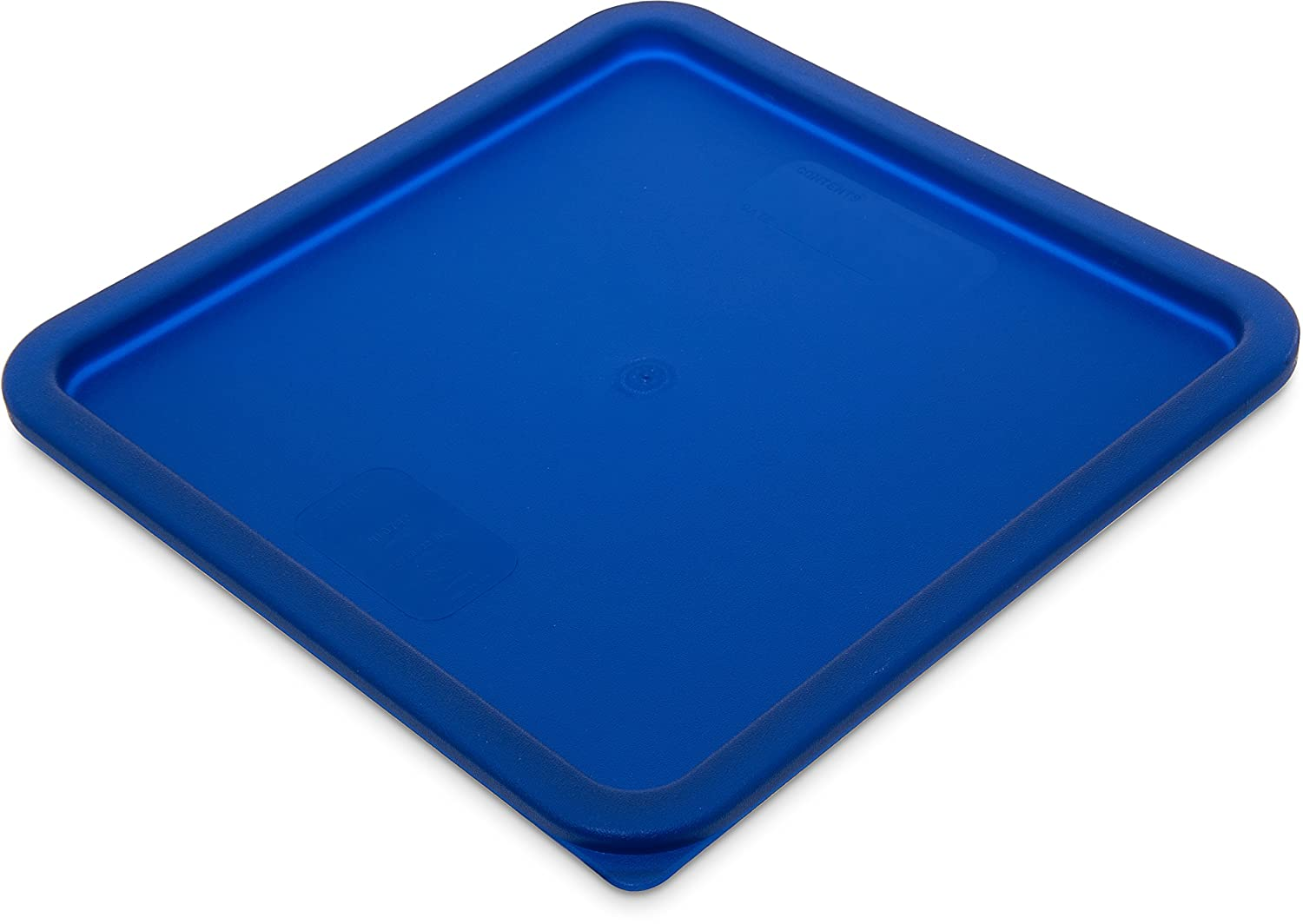 Carlisle 1074260 StorPlus Square Container Lid, 12-18-22 qt, Royal Blue