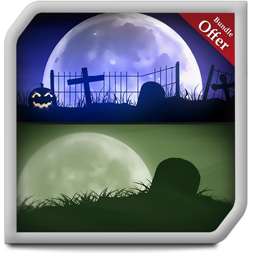 Spooky Graveyard HD - Decor your Halloween Party with Creepy Horror TV Theme (Graveyard Halloween)