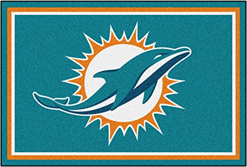 Fanmats Miami Dolphins 5×8 Rug